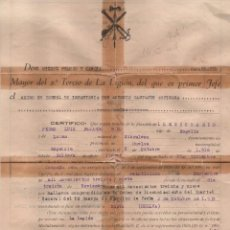 Militaria: COMANDANTE MAYOR, MIGUEL FRANCO GARCIA Y EXCMO. SR. ANTONIO CASTEJON ESP.CORONEL INF.JEFE, 2º TERCIO. Lote 112692471