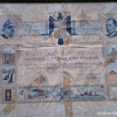 Militaria: PARTE OFICIAL DE GUERRA FRANCO Y JOSÉ ANTONIO PRIMO DE RIVERA 1 DE ABRIL 1939. Lote 112982203