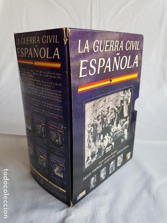 Militaria: LA GUERRA CIVIL ESPAÑOLA Serie 6 DVD´s - Foto 2 - 116675979