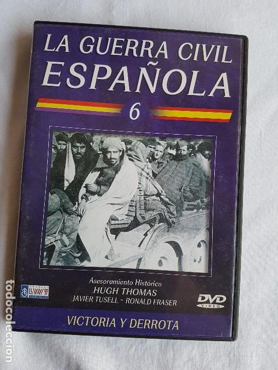 Militaria: LA GUERRA CIVIL ESPAÑOLA Serie 6 DVD´s - Foto 9 - 116675979