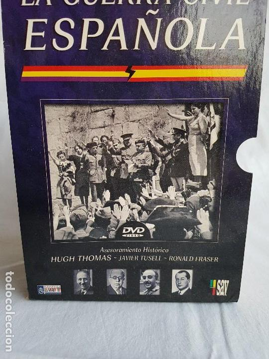 Militaria: LA GUERRA CIVIL ESPAÑOLA Serie 6 DVD´s - Foto 10 - 116675979