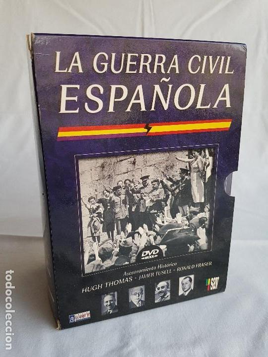 LA GUERRA CIVIL ESPAÑOLA SERIE 6 DVD´S (Militar - Guerra Civil Española)