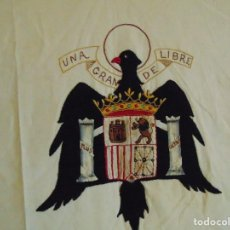 Militaria: 4 REPOSTEROS GUERRA CIVIL ESPAÑOLA , CASA SEÑORIAL ,AYUNTAMINENTO CUARTEL GUARDIA CIVIL CON BORDADOS. Lote 116711683