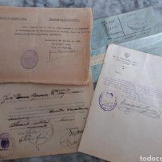 Militaria: ALICANTE DOCUMENTOS GUARDIA CIVIL, GUERRA CIVIL. Lote 116887031