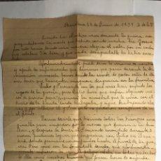 Militaria: BARCELONA, GUERRA CIVIL. 22 DE JUNIO DE 1939. Lote 119397470