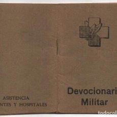 Militaria: DEVOCIONARIO MILITAR, -FRENTES Y HOSPITALES- VER FOTOS. Lote 119599711