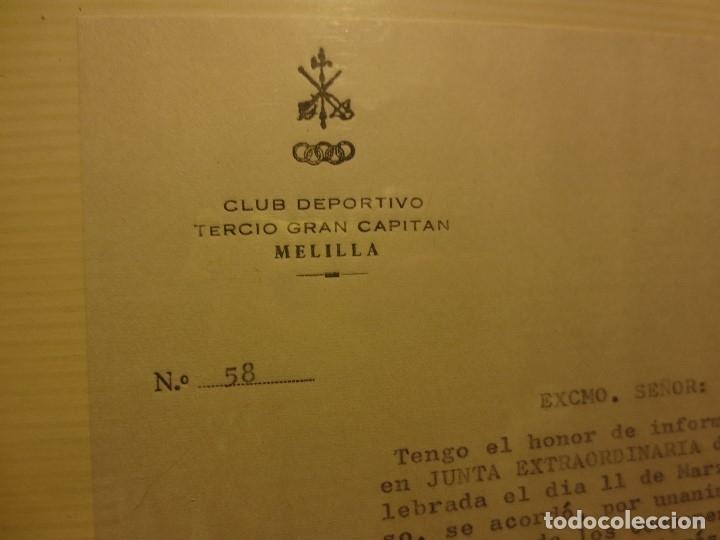 Militaria: ALBUM FOTOS MILITAR TERCIO GRAN CAPITAN MELILLA CLUB DEPORTIVO INSTALACIONES DEPORTIVAS LA LEGION - Foto 4 - 118087351