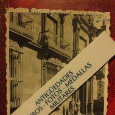 Militaria: PALACIO EPISCOPAL LA LAGUNA OFICIALES DE LEGION XI - 1939 GUERRA CIVIL ESPAÑOLA . Lote 121451375