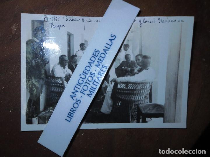 Militaria: 1939 ALIADOS CONSUL DE ITALIA Y CORONEL D DFO EN TILIUIN GUERRA CIVIL ESPAÑOLA - Foto 2 - 121490543