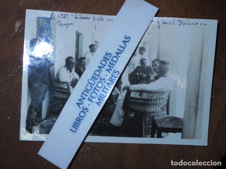 Militaria: 1939 ALIADOS CONSUL DE ITALIA Y CORONEL D DFO EN TILIUIN GUERRA CIVIL ESPAÑOLA - Foto 4 - 121490543