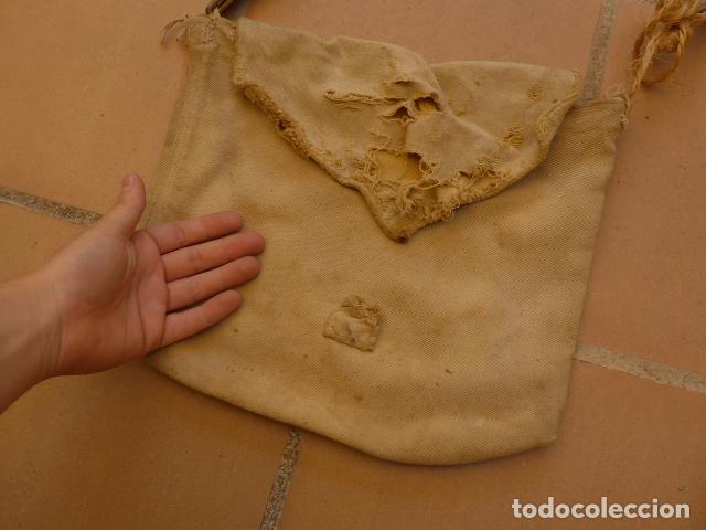 Militaria: * Antiguo macuto o bolsa de costado republicana, original, guerra civil. ZX - Foto 2 - 121890723