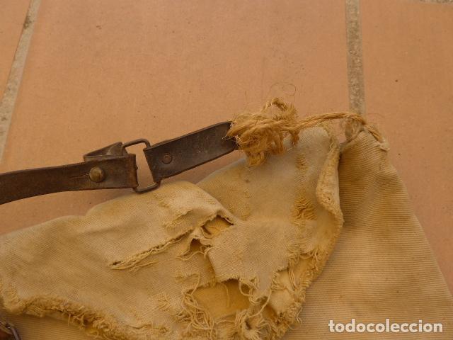 Militaria: * Antiguo macuto o bolsa de costado republicana, original, guerra civil. ZX - Foto 4 - 121890723