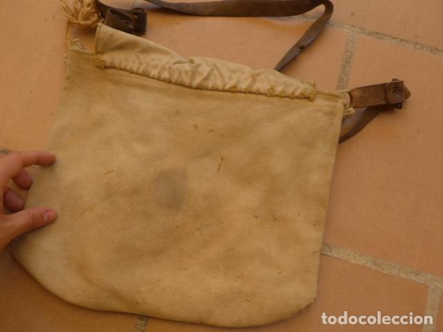 Militaria: * Antiguo macuto o bolsa de costado republicana, original, guerra civil. ZX - Foto 5 - 121890723