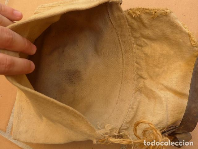 Militaria: * Antiguo macuto o bolsa de costado republicana, original, guerra civil. ZX - Foto 6 - 121890723