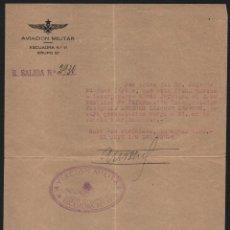 Militaria: AVIACION MILITAR, ESCUADRA Nº 11 - GRUPO 21,-LOS JERONIMOS- CABO: MELCHOR LLAQUET, VER FOTO. Lote 121964491