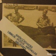 Militaria: TILIUIN VI -1939 PROTECTORADO POST GUERRA CIVIL OFICIALES OFICIALES LEGION CON BURRA Y TERNERO. Lote 122048875