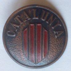 Militaria: INSIGNIA MILICIAS CATALANAS CATALUNYA CATALUÑA GUERRA CIVIL ESPAÑOLA. Lote 122099855