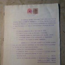 Militaria: RICO PICO Y COMPAÑÍA, ALGUEÑA ALICANTE 1938. Lote 122998912