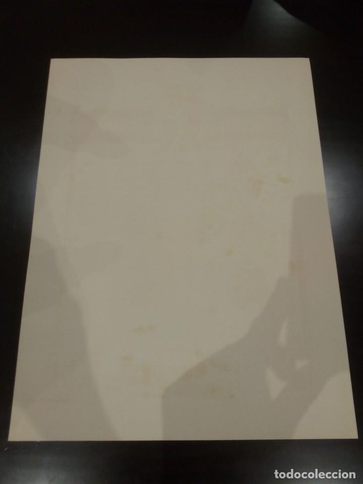 Militaria: DIPLOMA DE LA CONCESIÓN DE DOS MEDALLAS COLECTIVAS AL TERCIO REQUETÉ NTRA. SRA. DE LA MERCED - Foto 7 - 165017765