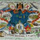 Militaria: PAÑUELO DE TELA ESTAMPADA. A NUESTROS HEROES. AÑO DE LA VICTORIA. 1936/1939. . Lote 126221939