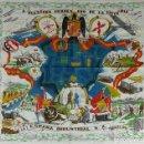 Militaria: PAÑUELO DE TELA ESTAMPADA. A NUESTROS HEROES. AÑO DE LA VICTORIA. 1936/1939.. Lote 126228751