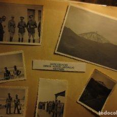 Militaria: INICIOS GUERRA CIVIL LAS PALMAS OFICIALES LEGION ALIADOS FRANCESES PILOTO AVIACION Y REGULAR. Lote 126765139