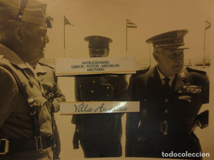 COLOQUIO ALTOS MANDOS FOTO INEDITA LEGION POST GUERRA CIVIL GUERRA CIVIL (Militar - Guerra Civil Española)