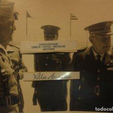 Militaria: COLOQUIO ALTOS MANDOS FOTO INEDITA LEGION POST GUERRA CIVIL GUERRA CIVIL. Lote 127276959