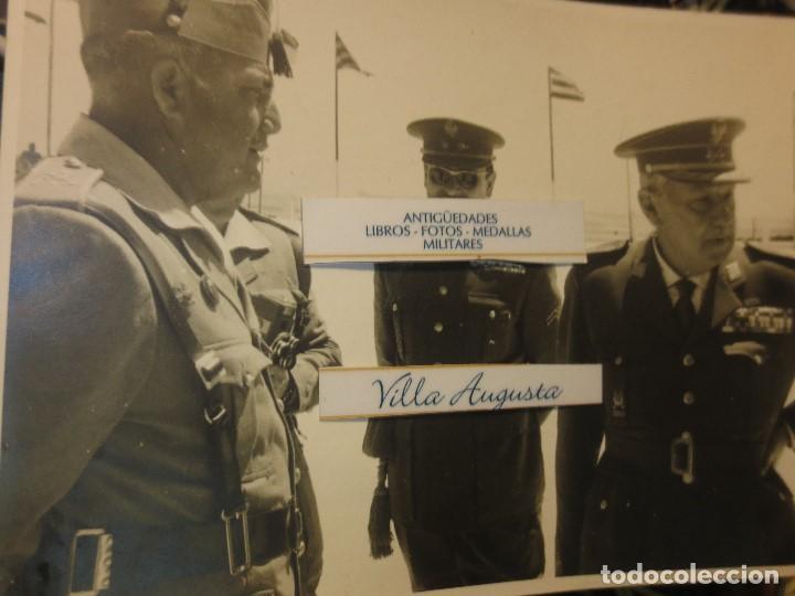 Militaria: COLOQUIO ALTOS MANDOS FOTO INEDITA LEGION POST GUERRA CIVIL GUERRA CIVIL - Foto 3 - 127276959