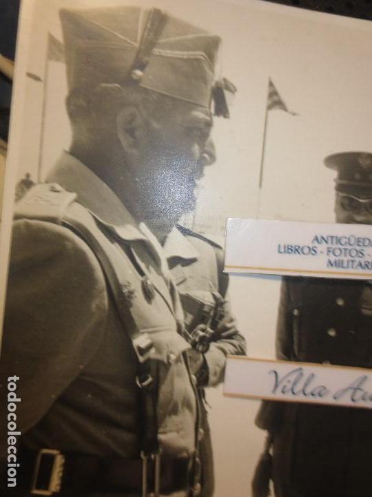 Militaria: COLOQUIO ALTOS MANDOS FOTO INEDITA LEGION POST GUERRA CIVIL GUERRA CIVIL - Foto 4 - 127276959