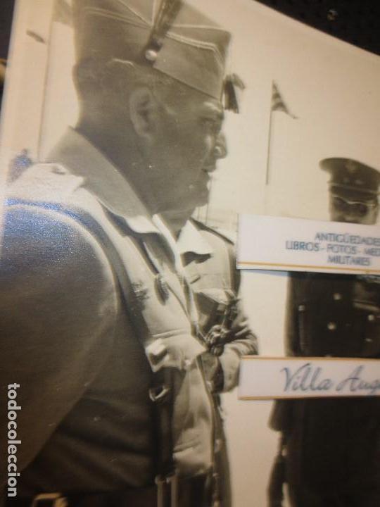 Militaria: COLOQUIO ALTOS MANDOS FOTO INEDITA LEGION POST GUERRA CIVIL GUERRA CIVIL - Foto 6 - 127276959