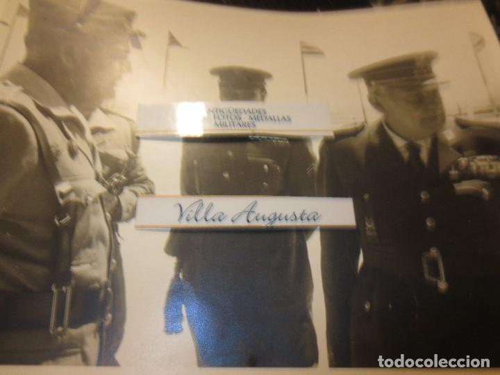 Militaria: COLOQUIO ALTOS MANDOS FOTO INEDITA LEGION POST GUERRA CIVIL GUERRA CIVIL - Foto 7 - 127276959
