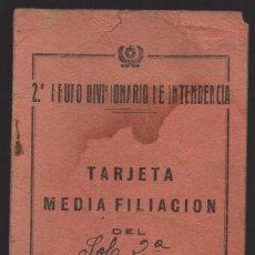 Militaria: 2º GRUPO DIVISIONARIO DE INTENDENCIA, VER FOTOS. Lote 127552615