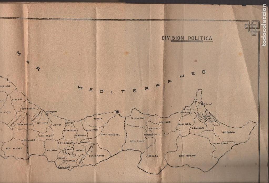 Militaria: MARRUECOS, ALTA COMISARIA, HABITANTES,NOMBRE Y PLANOS, AÑO 1937, 174 PAGINAS, VER FOTOS - Foto 11 - 128777179