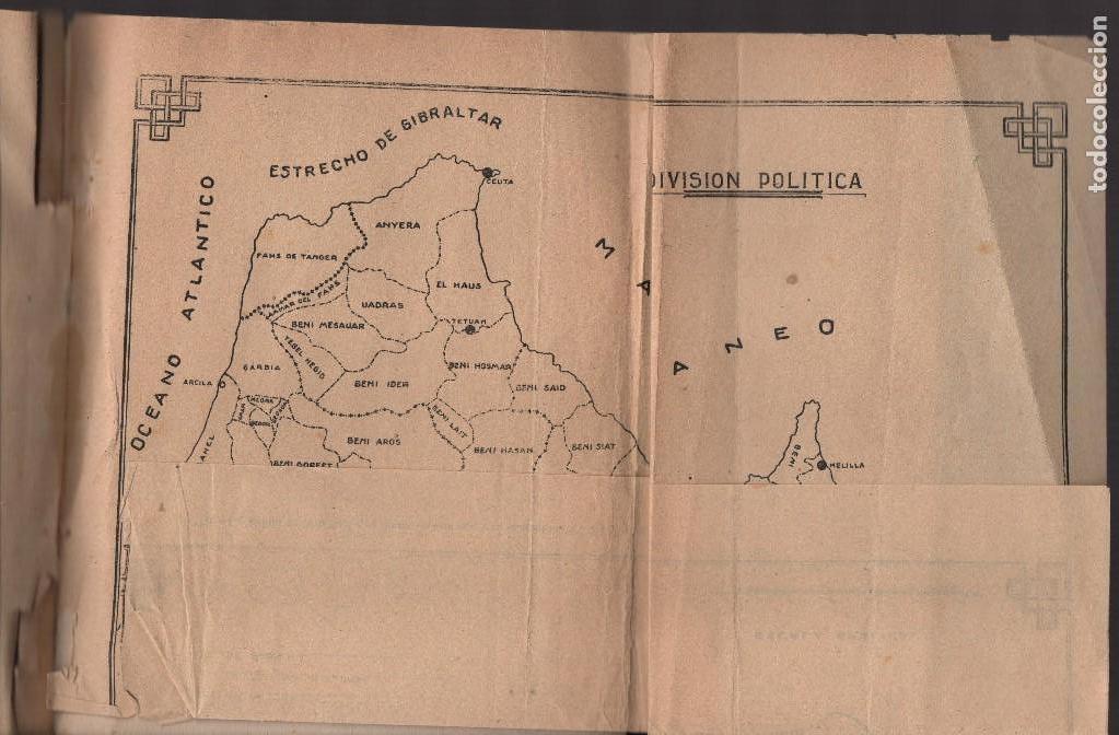Militaria: MARRUECOS, ALTA COMISARIA, HABITANTES,NOMBRE Y PLANOS, AÑO 1937, 174 PAGINAS, VER FOTOS - Foto 12 - 128777179