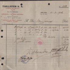 Militaria: MALAGA, C.N.T. A.I.T. S.UNICO DEL RAMO MADERA, AÑO 1936, VER FOTO. Lote 129560679