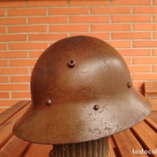 Militaria: CASCO CHECO GUERRA CIVIL EJÉRCITO REPUBLICANO. Lote 133545902