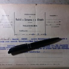 Militaria: GUERRA CIVIL .20 JULIO 1936. ALICANTE.. Lote 135525146