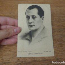 Militaria: ANTIGUA POSTAL DE JOSE ANTONIO PRIMO DE RIVERA, FALANGE, GUERRA CIVIL. ORIGINAL. Lote 135952770