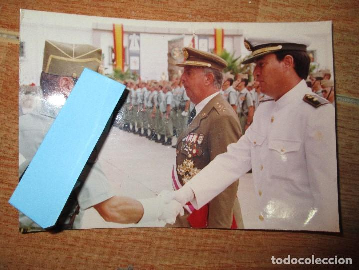 FOTO INEDITA DESFILE OFICIALES COMBATIENTES LEGION EN GUERRA CIVIL (Militar - Guerra Civil Española)