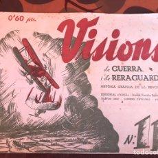 Militaria: VISIONS 11B GUERRA Y RETAGUARDIA. Lote 139690221