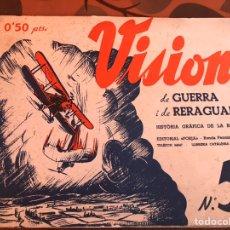 Militaria: VISIONS 5B GUERRA Y RETAGUARDIA. Lote 139690292