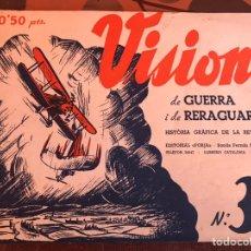 Militaria: VISIONS 3B GUERRA Y RETAGUARDIA. Lote 139690429