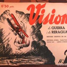 Militaria: VISIONS 2B GUERRA Y RETAGUARDIA. Lote 139690494