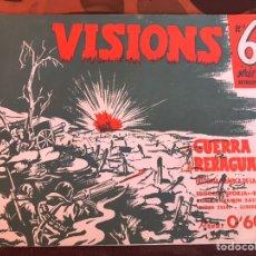 Militaria: VISIONS 6A GUERRA Y RETAGUARDIA. Lote 139690598