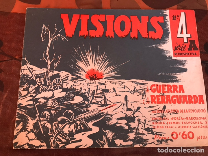 VISIONS 4A GUERRA Y RETAGUARDIA (Militar - Guerra Civil Española)