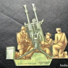 Militaria: BONITO LOTE DE 10 FIGURAS TROQUELADAS DEL EJERCITO POPULAR DE LA REPUBLICA ( GUERRA CIVIL ). Lote 139869874