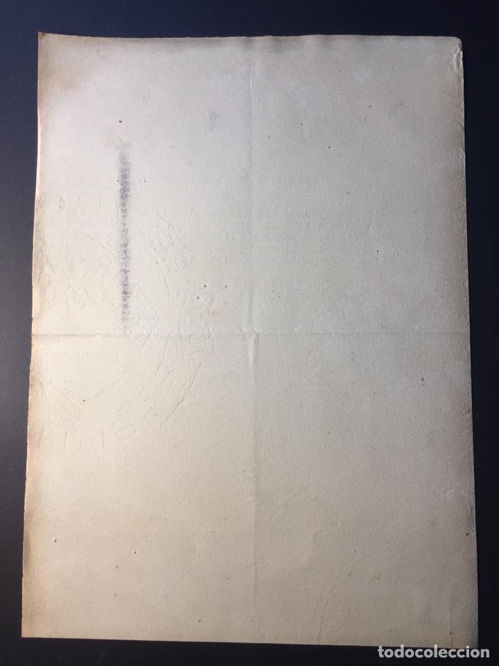 Militaria: Documento Militar Sector Toledo-Madrid,(1936). - Foto 2 - 140160593