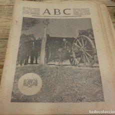 Militaria: ABC 23 DE MARZO DE 1938, SEVILLA,18 PAGINAS,FRENTE DE ARAGON, HUESCA,PARTE DE GUERRA, ETC.. Lote 140359818