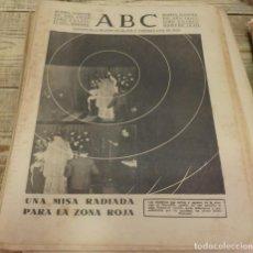 Militaria: ABC 1 DE MARZO DE 1938, SEVILLA,24 PAGINAS, CARTAMA,PARTE DE GUERRA, ETC.. Lote 140365790